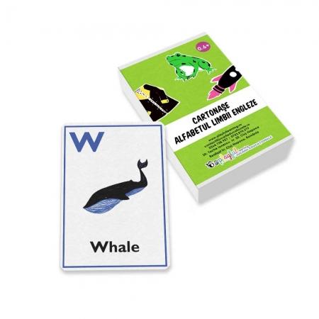 Cartonase Alfabetul limbii engleze