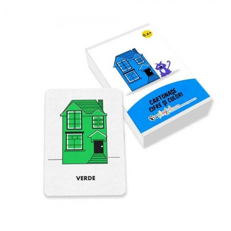 Cartonase Cifre si culori