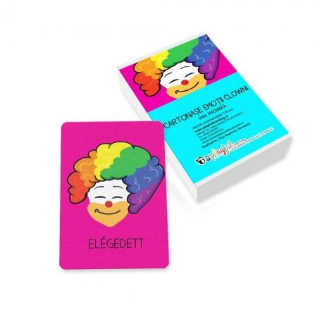 Cartonase Emotii clowni maghiara