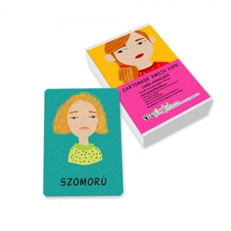 Cartonase emotii copii maghiara