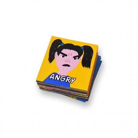Magneti emotii copii engleza